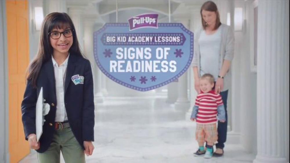 Huggies Pull-Ups TV Commercial, 'Big Kid Academy Lessons: Signs of Readiness'
