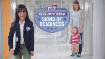 Huggies Pull-Ups TV Spot, 'Big Kid Academy Lessons: Signs of Readiness'
