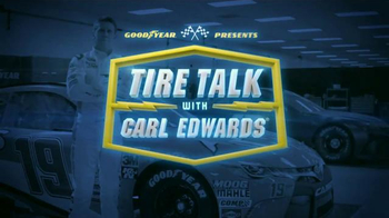 Goodyear TV Spot, 'Tire Talk: Gas' Featuring Carl Edwards - Thumbnail 1
