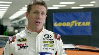 Goodyear TV Spot, 'Tire Talk: Gas' Featuring Carl Edwards - Thumbnail 2