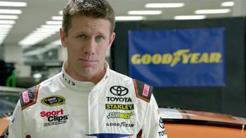 Goodyear TV Spot, 'Tire Talk: Gas' Featuring Carl Edwards - Thumbnail 3
