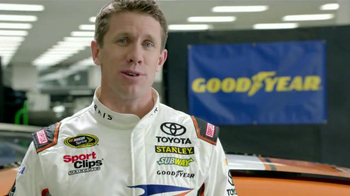 Goodyear TV Spot, 'Tire Talk: Gas' Featuring Carl Edwards - Thumbnail 4
