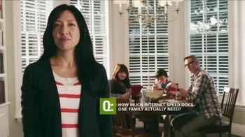CenturyLink High-Speed Internet TV Spot, 'Family' - Thumbnail 1