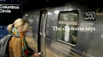 Fordham University TV Spot, 'Your Diploma' - Thumbnail 2