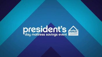 Ashley Furniture President's Day Mattress Savings Event TV Spot, 'Hurry In' - 729 commercial airings
