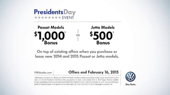 Volkswagen Presidents Day Event TV Spot, 'Get the Presidential Treatment' - Thumbnail 8