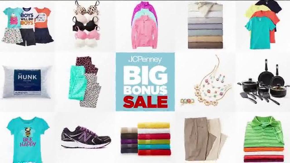 JCPenney Big Bonus Sale TV Commercial, 'Doorbusters'