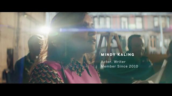 American Express TV Spot, 'The Journey Never Stops for Mindy Kaling' - 217 commercial airings