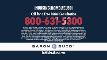 Baron & Budd, P.C. TV Spot, 'Nursing Home Abuse' - Thumbnail 8