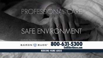 Baron & Budd, P.C. TV Spot, 'Nursing Home Abuse' - Thumbnail 3