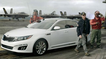 2015 Kia Optima TV Spot, 'Fighter Pilot' Featuring Blake Griffin - Thumbnail 6