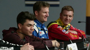 NASCAR Fantasy Live TV Spot, 'Press Conference' - Thumbnail 6