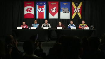 NASCAR Fantasy Live TV Spot, 'Press Conference'