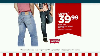 JCPenney Presidents Day Sale February 2015 TV Spot, 'Levi's Jeans and More' - Thumbnail 3