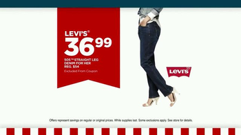 JCPenney Presidents Day Sale February 2015 TV Spot, 'Levi's Jeans and More' - Thumbnail 4
