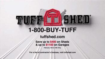 Tuff Shed 2-Day Sale TV Spot, 'Save Big' - Thumbnail 10