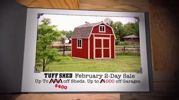 Tuff Shed 2-Day Sale TV Spot, 'Save Big' - Thumbnail 6