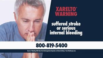 Beasley Allen Law Firm TV Spot, 'Xarelto Warning' - Thumbnail 1