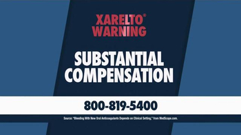 Beasley Allen Law Firm TV Spot, 'Xarelto Warning' - Thumbnail 2