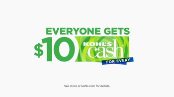 Kohl's Great Big Savings TV Spot, 'Exercise Gear' - Thumbnail 9