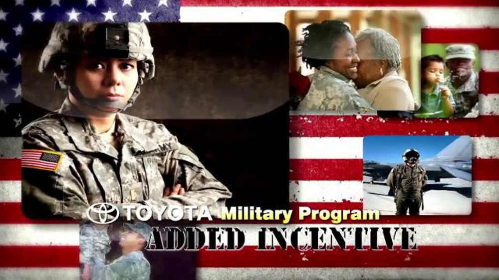 Toyota Military Program TV Commercial, 'Welcome Home'