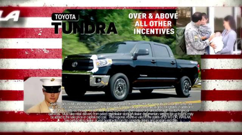 Toyota Military Program TV Spot, 'Welcome Home' - Thumbnail 5