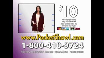 Pocket Shawl TV Spot, 'Warm and Cozy' - Thumbnail 10