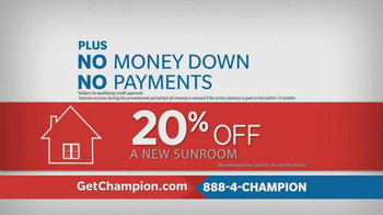 Champion Windows TV Spot, 'Love Where You Live' - Thumbnail 10