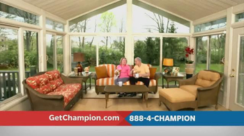 Champion Windows TV Spot, 'Love Where You Live'