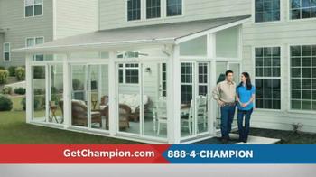 Champion Windows TV Spot, 'Love Where You Live' - Thumbnail 7