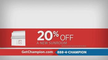 Champion Windows TV Spot, 'Love Where You Live' - Thumbnail 9