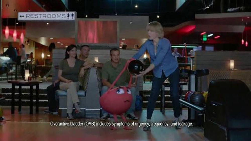 Myrbetriq TV Commercial, 'Bowling'
