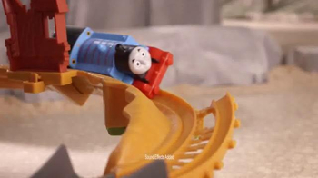 Track Master Thomas & Friends Breakaway Bridge TV Spot, 'Collapsed Bridge' - Thumbnail 5