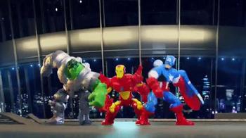 Marvel Super Hero Mashers TV Spot, 'In the Action' - Thumbnail 2
