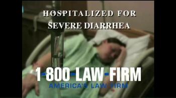 1-800-LAW-FIRM TV Spot, 'Medical Alert: Benicar' - Thumbnail 2