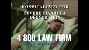 1-800-LAW-FIRM TV Spot, 'Medical Alert: Benicar' - Thumbnail 4