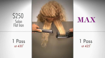 Instyler Max Rotating Iron TV Spot, 'Lab Study' - 3299 commercial airings