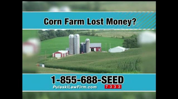 Pulaski & Middleman TV Spot, 'Corn Farm Lost Money?' - Thumbnail 1