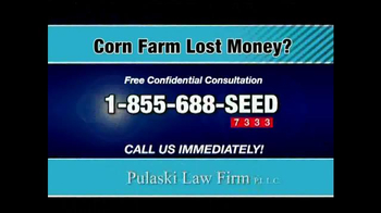 Pulaski & Middleman TV Spot, 'Corn Farm Lost Money?' - Thumbnail 3