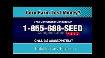 Pulaski & Middleman TV Spot, 'Corn Farm Lost Money?' - Thumbnail 4