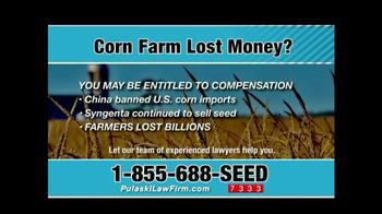 Pulaski & Middleman TV Spot, 'Corn Farm Lost Money?' - Thumbnail 7