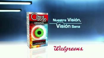 Optical 20/20 Original TV Spot, 'Rápido Alivio del Ojo Rojo' [Spanish] - Thumbnail 6