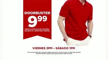 JCPenney Gran Venta con Descuentos Extras TV Spot, 'Polos' [Spanish] - Thumbnail 4