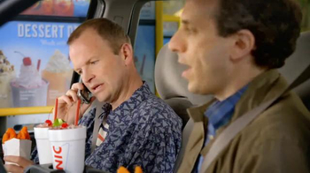 Sonic Drive-In Spicy Super Crunch Chicken Strips TV Spot, 'Not Your Mom's' - Thumbnail 5
