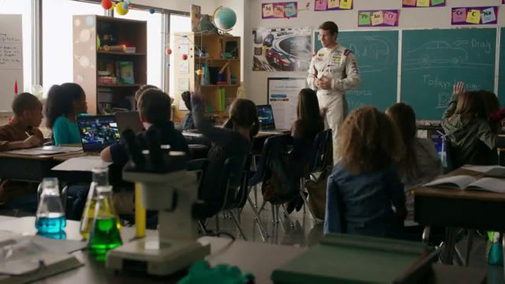 NASCAR Acceleration Nation TV Commercial, 'Ice Cream' Featuring Carl Edwards