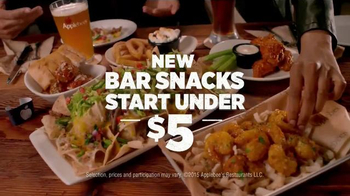 Applebee's Bar Snacks TV Spot, 'Great Night Out'