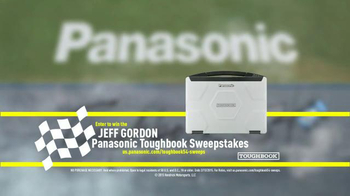 Panasonic Semi-rugged Toughbook 54 TV Spot, 'NASCAR' Featuring Jeff Gordon - Thumbnail 9
