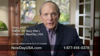 New Day USA 100 Home Loan TV Spot, 'Giving 100 Percent of Yourself' - Thumbnail 2