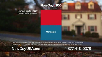 New Day USA 100 Home Loan TV Spot, 'Giving 100 Percent of Yourself' - Thumbnail 6