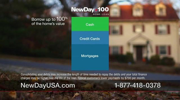 New Day USA 100 Home Loan TV Spot, 'Giving 100 Percent of Yourself' - Thumbnail 7